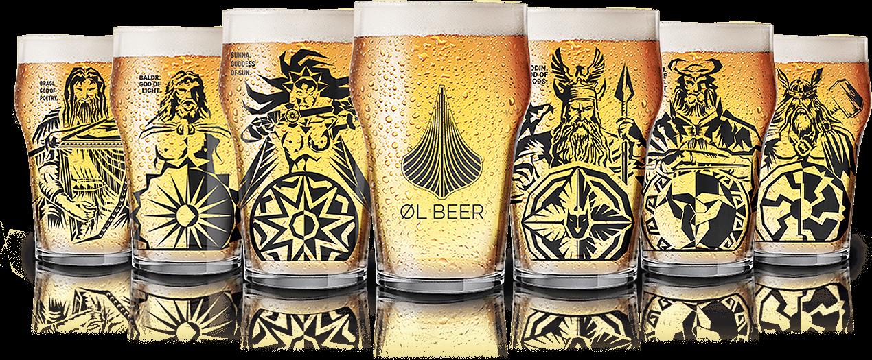 ØL Beer - Copos